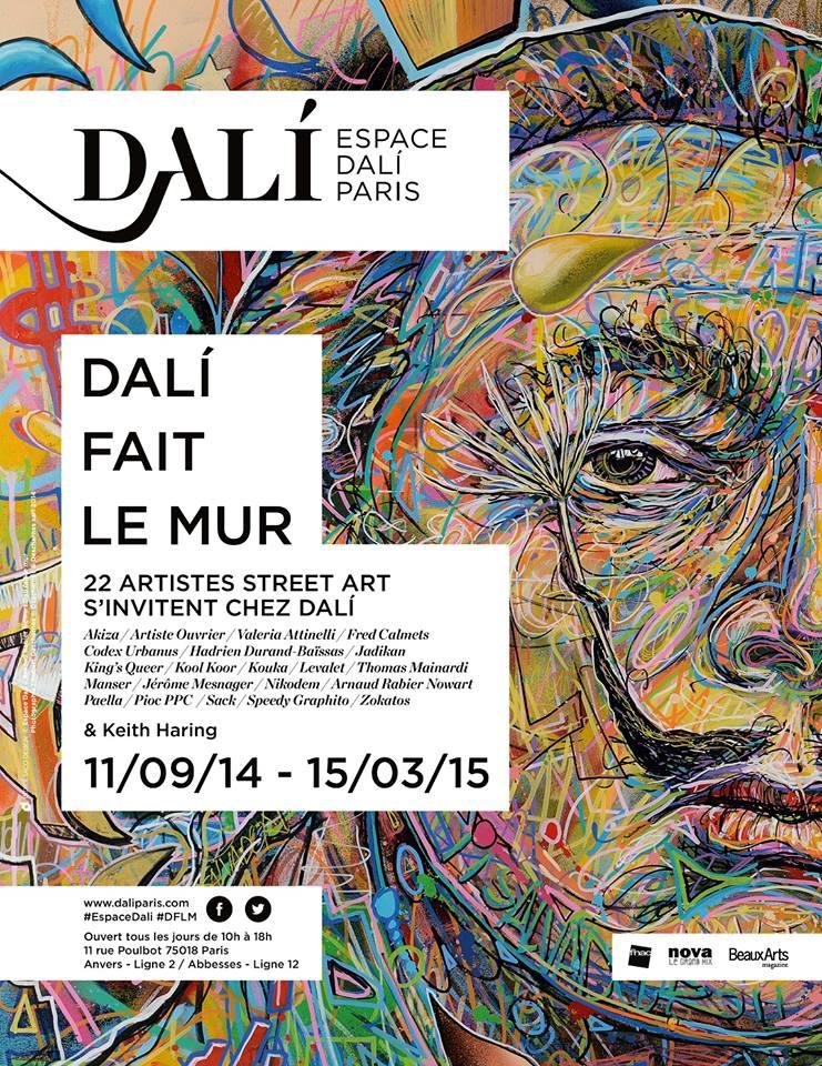 photo Dali fait le mur